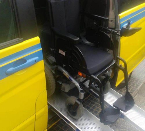 Taxi Fleet Adapted for wheelchairs